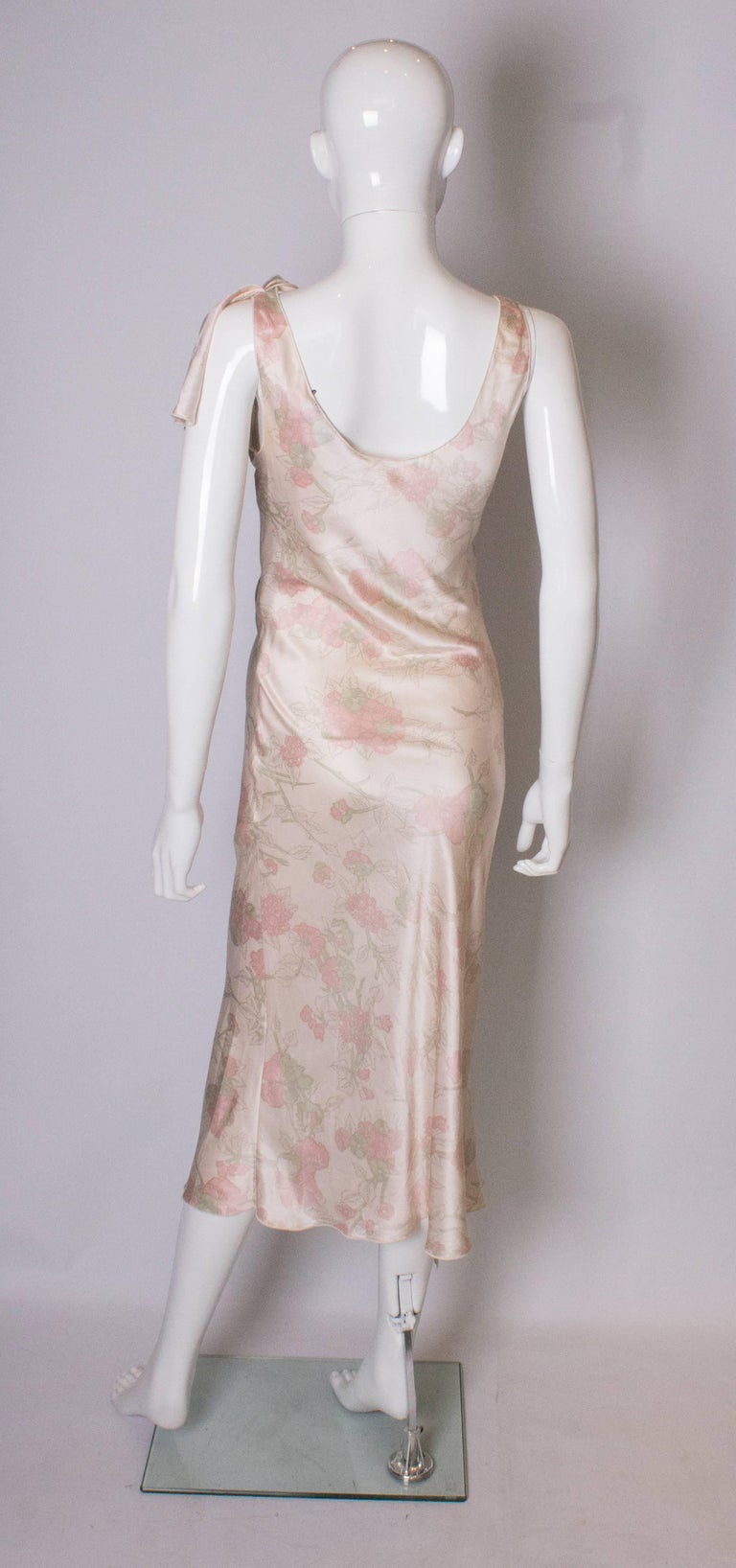 Vintage Ungaro Silk Slip Dress or Nightdress For Sale 2