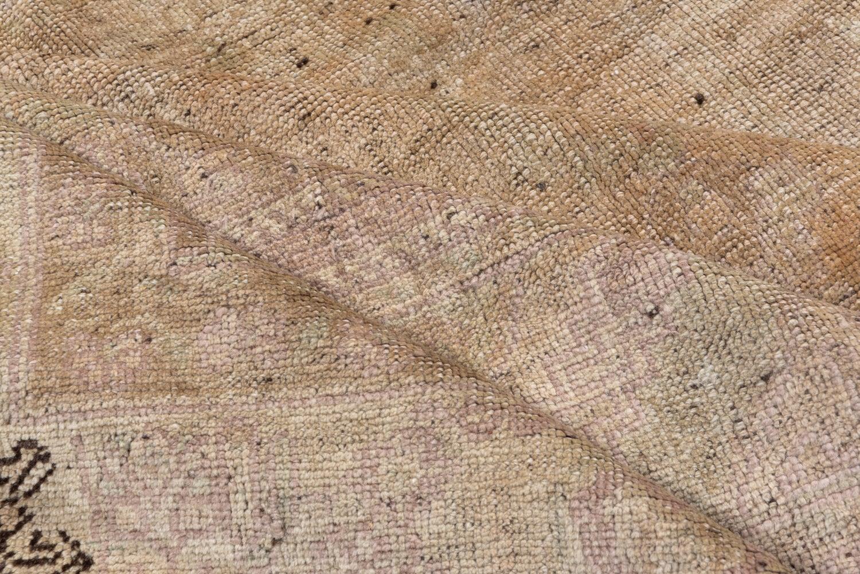 vintage unique oushak carpet neutral palette subdued colors for sale at 1stdibs 1stdibs