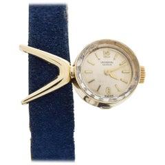 Vintage Universal Geneve Ladies 14 Karat Yellow Gold Watch, 1960s