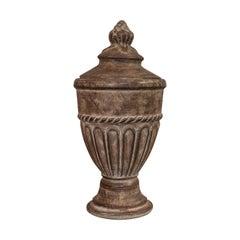 Vintage Urn, English, Terracotta, Decorative, Garden, Fireside, Ornament