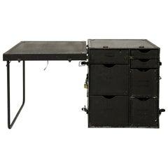 Vintage U.S. Military Portable Field Headquarters Desk