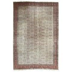 Vintage Used Turkish Kaysery Rug