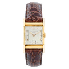 Vintage Vacheron Constantin 18 Karat Gold Art Deco Men's Watch