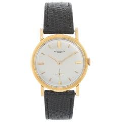 Vintage Vacheron Constantin 18 Karat Yellow Gold Men's Watch