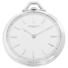 Vintage Vacheron & Constantine Platinum Men's Pocket Watch