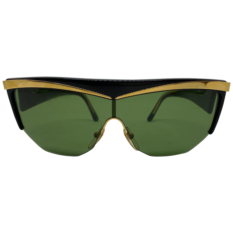 Vintage Valentino Italian Oversized Sunglasses 1990s