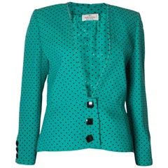 Vintage Valentino Jacket Polka Dot