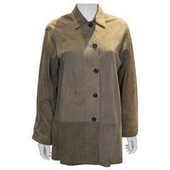 Vintage Valentino Roma Suede Jacket