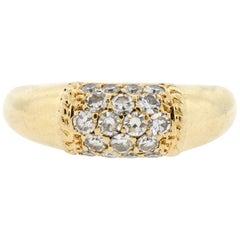 "Vintage Van Cleef & Arpels 18 Karat Yellow Gold Diamond ""Philippines"" Ring"