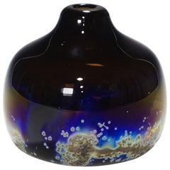 Vintage Vase 'Aomi' Designed by H. R. Janssen for Graal Glas, circa 1970