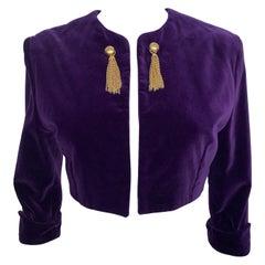 Vintage Velvet Jacket