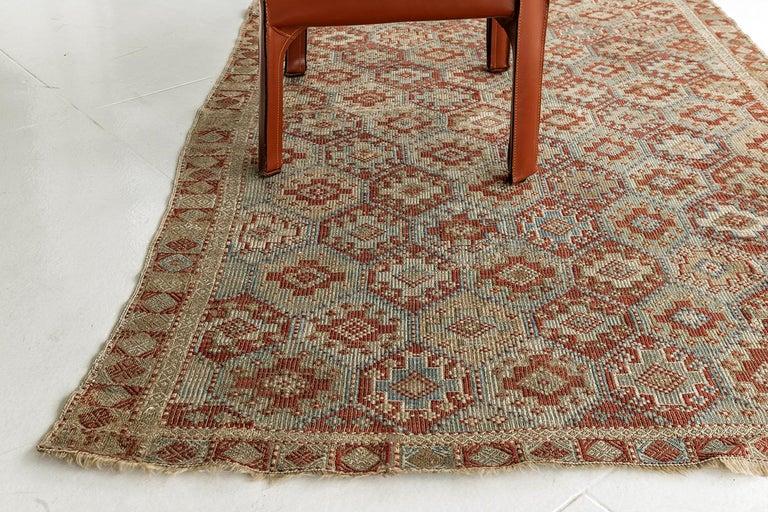 Vintage Verneh Flat-Weave Kilim Rug For Sale 1