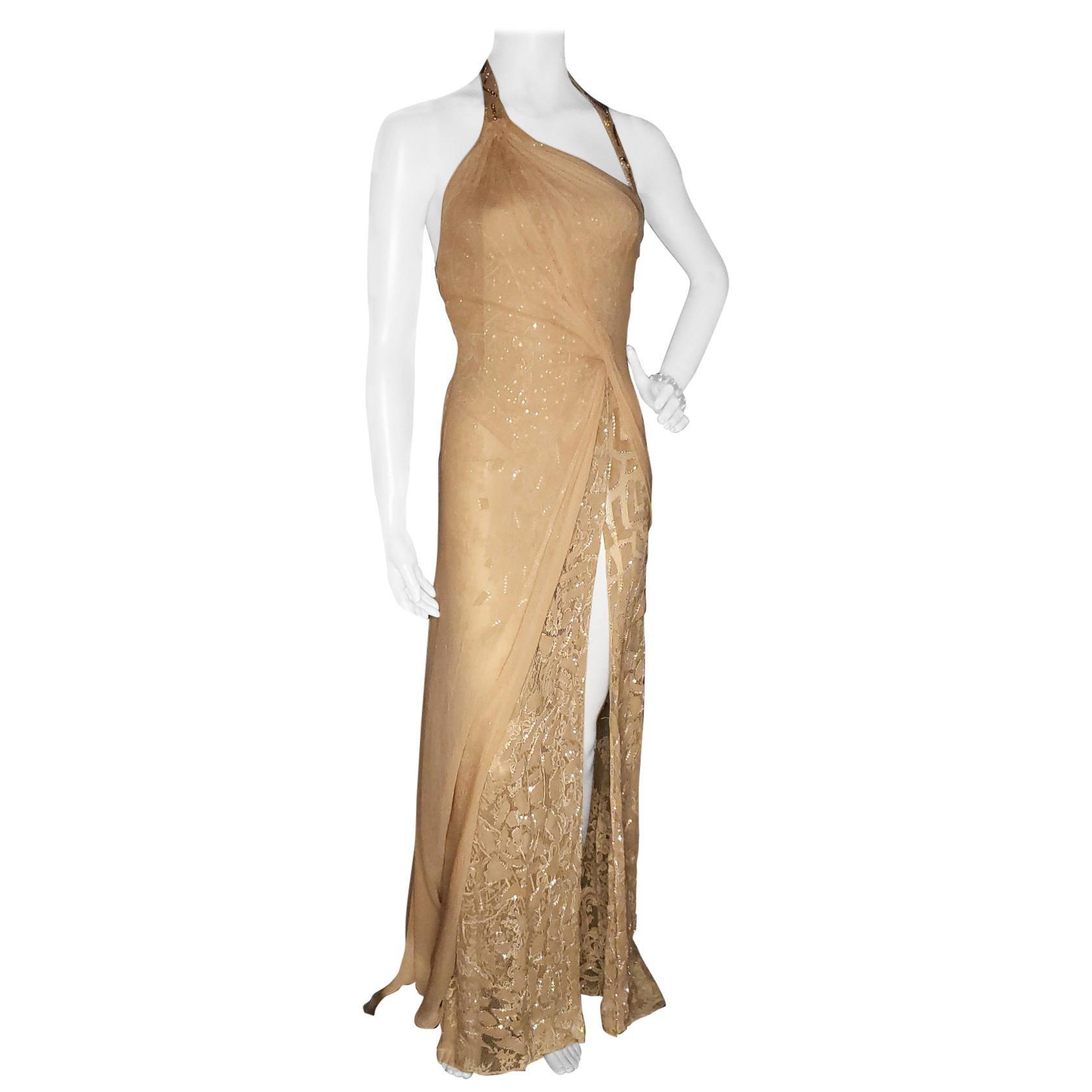 Vintage Versace Atelier Embellished Gown