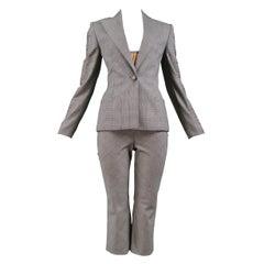 Vintage Versace Couture Grey 4-Piece Pantduit