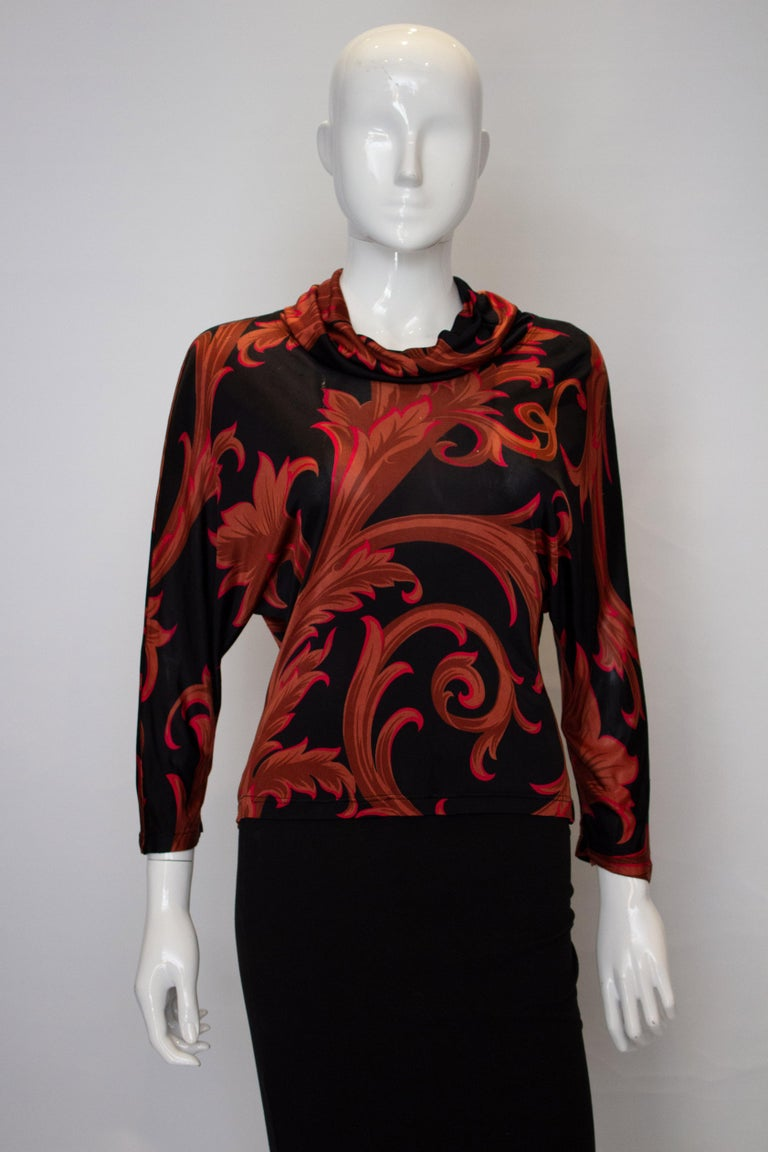Women's Vintage Versace Couture Top For Sale