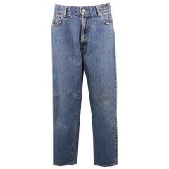 Vintage VERSACE JEANS COUTURE Size 32 Medium Stone Wash Denim Jeans