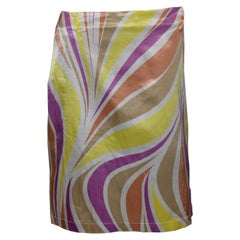 Vintage Versace Jeans Couture Summer Skirt