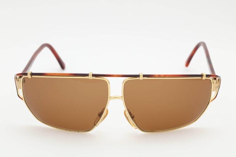 Women's or Men's Vintage Versace Mod S 36 Sunglasses  For Sale