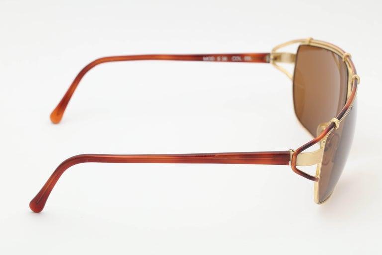 Vintage Versace Mod S 36 Sunglasses  For Sale 2