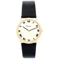 Vintage Very Rare Audemars Piguet Retail by Cartier Yellow Gold Manual Watch