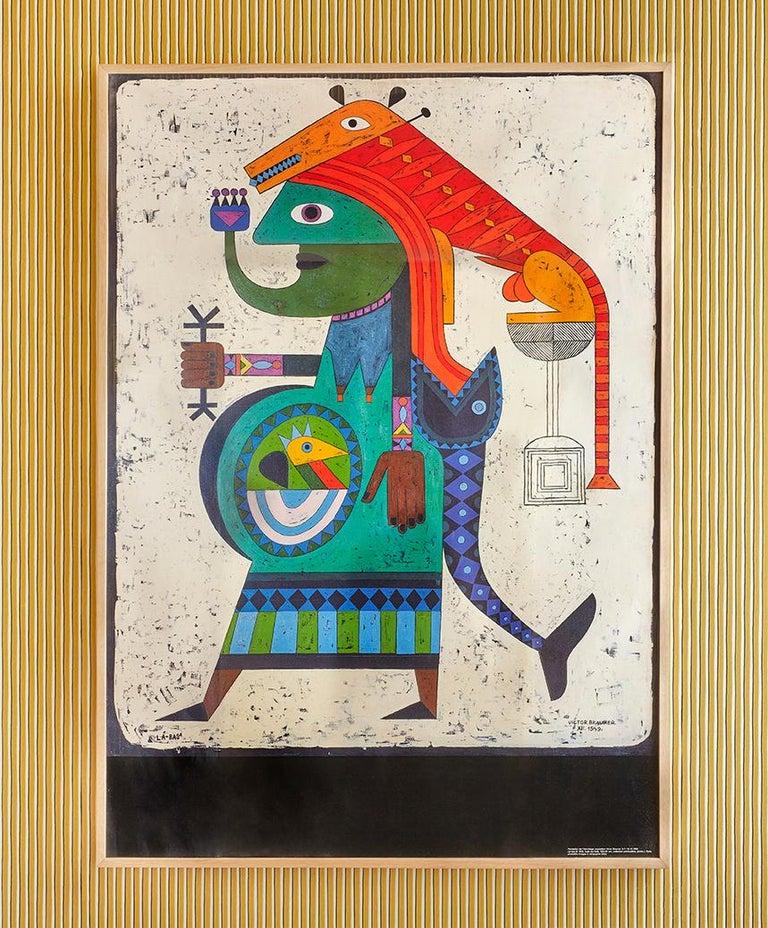 Victor Brauner Switzerland, 1999  Vintage exhibition poster.  Measures: H 130 x W 92 cm.