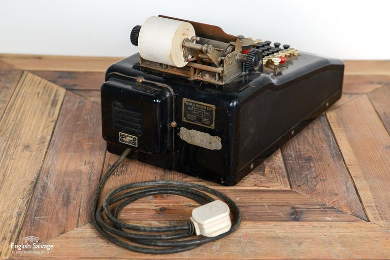 Vintage Victor Electric Till, 20th Century For Sale 1