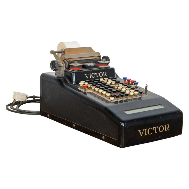 Vintage Victor Electric Till, 20th Century For Sale