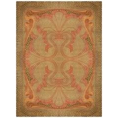Vintage Viennese Art Nouveau Carpet