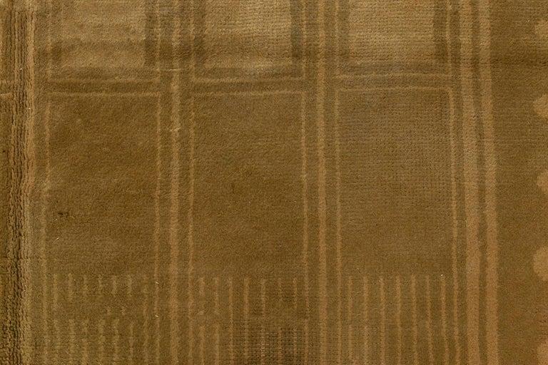 Vintage Viennese rug Size: 8'11