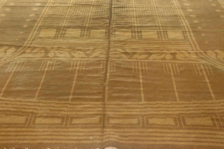 Hand-Woven Vintage Viennese Rug For Sale