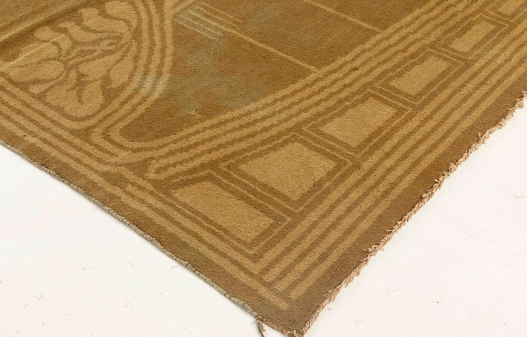 Wool Vintage Viennese Rug For Sale