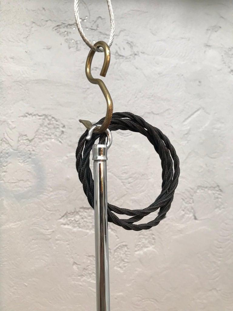 Vintage Vilhelm Lauritzen for Louis Poulsen Opaline Bell Pendent Chandeliers In Good Condition For Sale In Søborg, DK