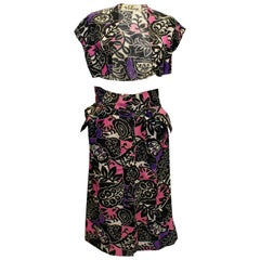 Vintage Vommy Paris/Lyon Skirt and Bolero