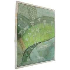 Vintage Wall Chart Microscopical View of Plants Science