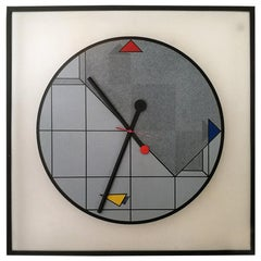 Vintage Wall Clock by Kurt B. Delbanco for Morphos, 1980s