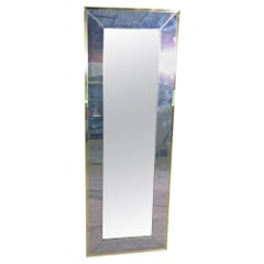Vintage Wall Mirror in the Style of Paul Evans