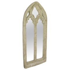 Vintage Wall Mirror, Pugin-Esque, Gothic Revival, Ecclesiastical, 20th Century