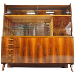 Vintage Walnut Cabinet from Tatra, circa 1960s