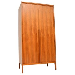 Vintage Walnut Wardrobe by Younger, 1960s