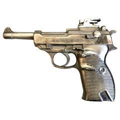 Vintage Walther P-38 Pistol Lighter