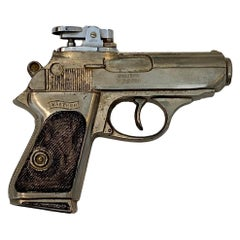 Vintage Walther PPK Gun Lighter