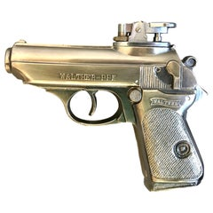 Vintage Walther-PPK Handgun Lighter