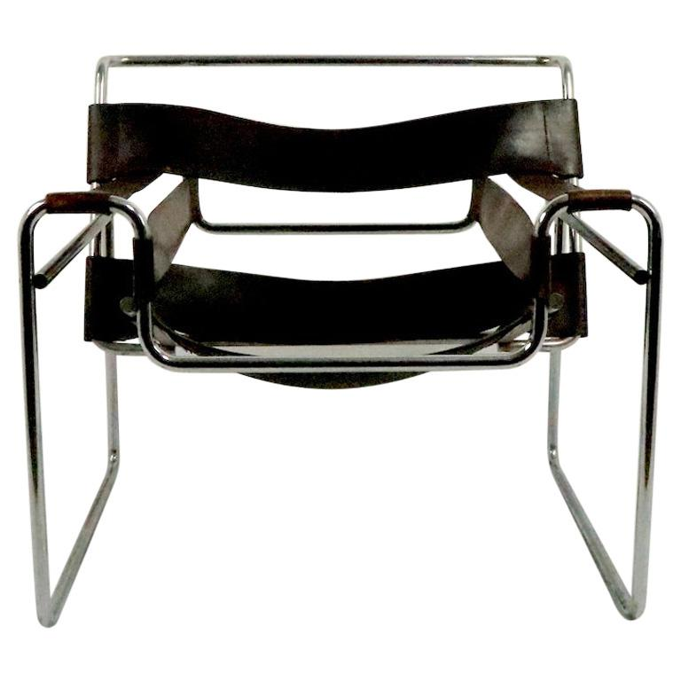 Vintage Wassily Chair Attributed to Knoll