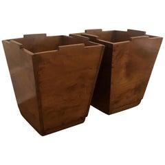 Vintage Waste Basket or Planters, Sold Individually