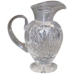 Vintage Waterford Crystal Bunratty Pitcher, Romance of Ireland Collection
