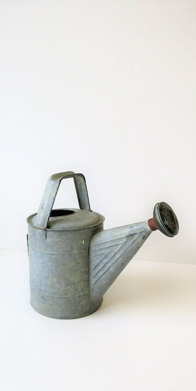 Vintage Watering Can In Good Condition For Sale In New York, NY