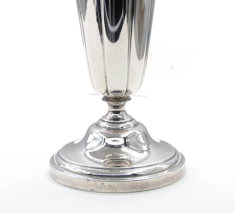 American Vintage Watson Company Silver Vase, First Half of the 20th Century For Sale