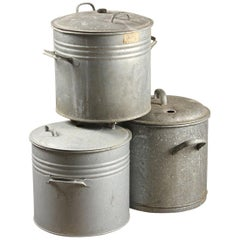 Vintage Weck Preserving Pots with Lids, 20th Century