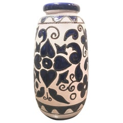 Vintage West German Ceramic Art Vase from the 1970s