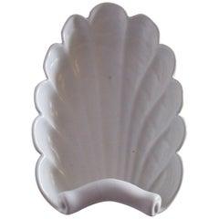 Vintage White Abington Art Deco Style Pottery Decorative Bowl